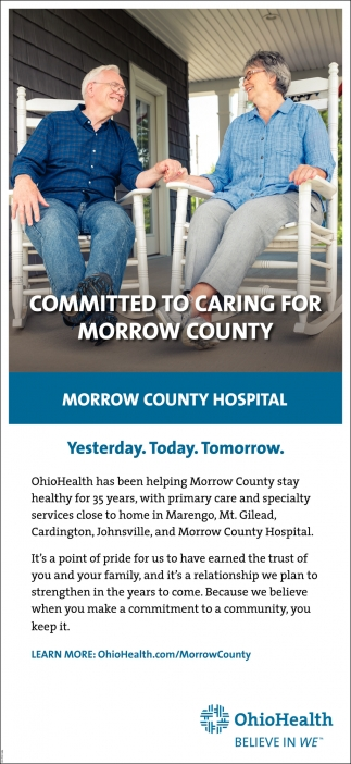 Committed To cring For Morrow County