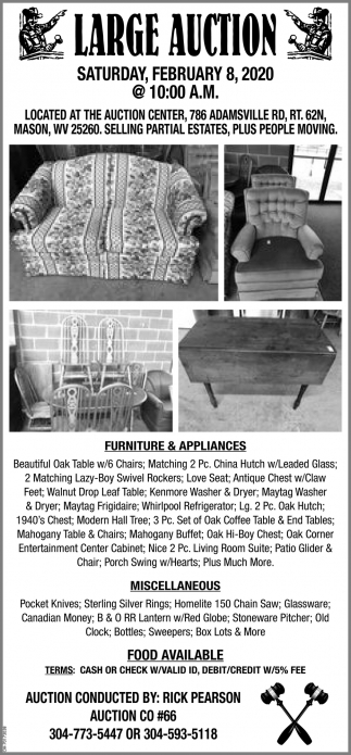 Large Auction - February 8