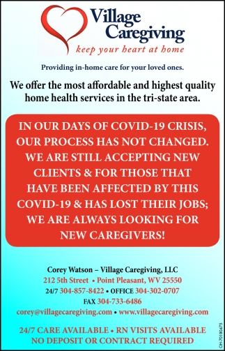 Providing In-Home Care