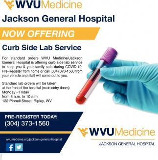 Curb Side Lab Service