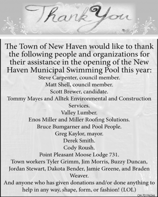Opening of the New Haven Municipal Swimming Pool