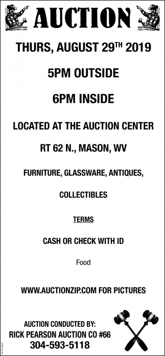 Auction - August 29th