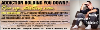 Addiction Holding You down?
