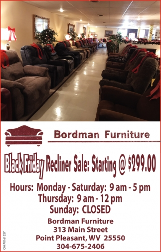Black Friday Recliner Sale