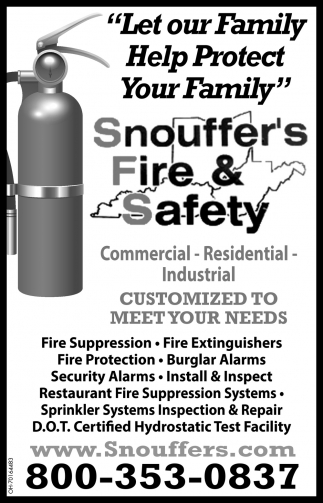 Let our Family Help Protect Your Family
