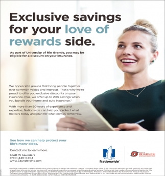 Exclusive Savings For Your Love Of Rewards Side Nationwide