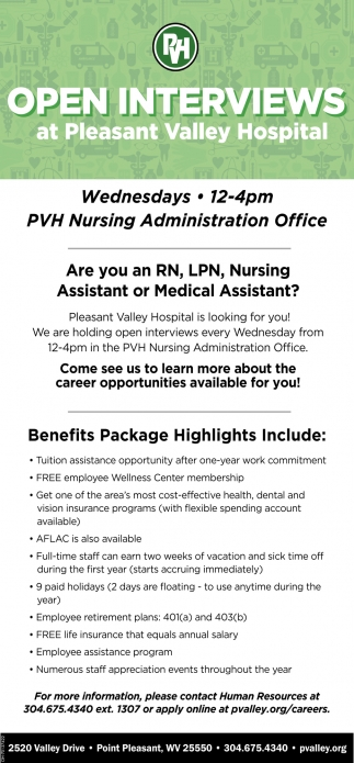 Registered Nursing, Licensed Practical Nurse, Nursing Assistant, Medical Assistant