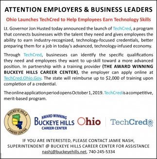Attention Employers & Business Leaders