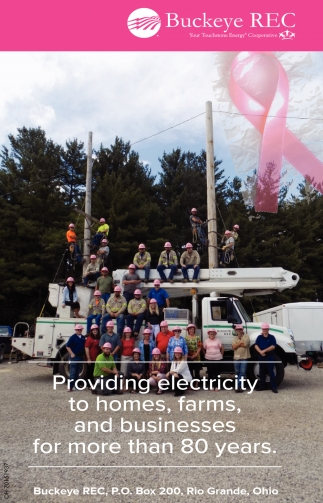 Providing electricity to homes, farms, and businesses for more than 80 years
