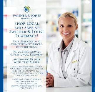 Shop Local and Save at Swisher & Lohse Pharmacy!