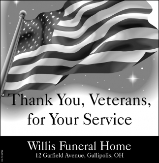 Thank You, Veterans, for Your Service