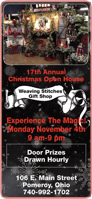 17th Annual Christmas Open House