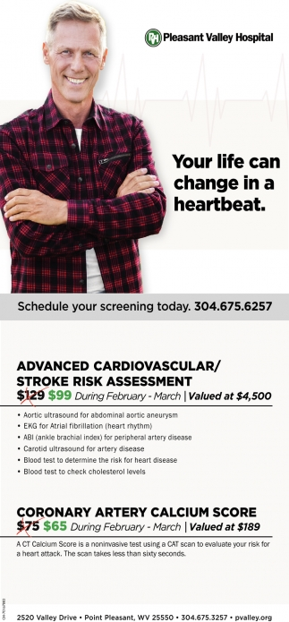 Advanced Cardiovascular / Stroke Risk Assessment