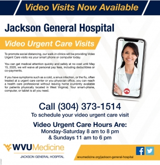 Video Urgent Care Visits