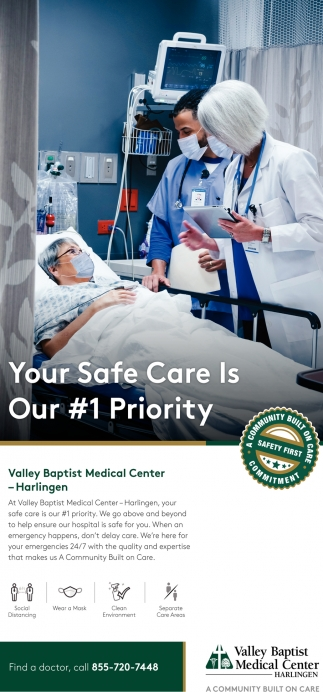 Your Safe Care Is Our #1 Priority