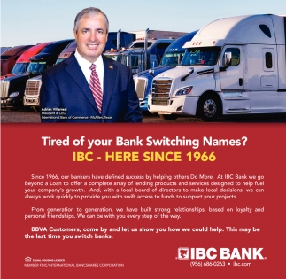 Tired Of Your Bank Switching Names?