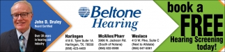 Book A Free Hearing Screening Today!