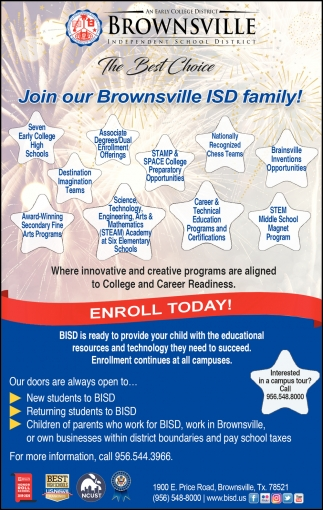Join Our Brownsville ISD Family!