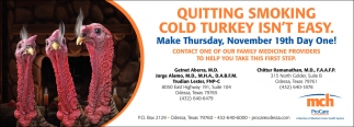Quitting Smoking Cold Turkey Isn't Easy