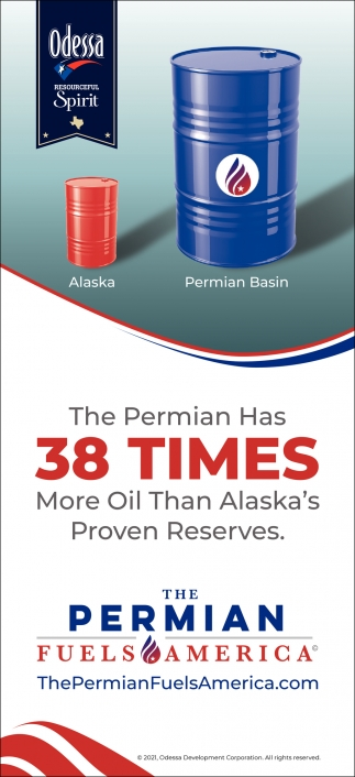 The Permian Has 38 Times More Oil Than Alaska's Proven Reserves.