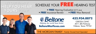 Schedule Your Free Hearing Test
