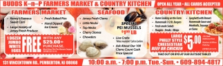 Farmers Market - Seafood - Country Kitchen