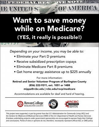 Want To Save Money While On Medicare?
