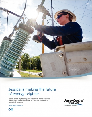 Jessica Is Making The Future Of Energy Brighter.
