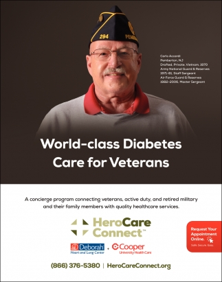 World-Class Diabetes Care For Veterans