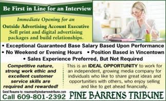 Be First In Line For An Interview