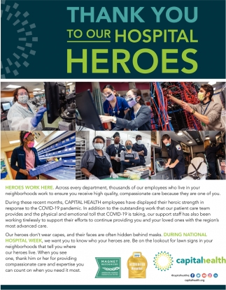 Thank You To Our Hospital Heroes