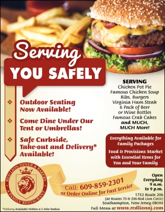 Serving You Safely