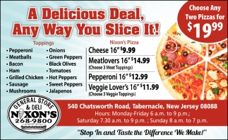 A Delicious Deal, Any Way You Slice It!