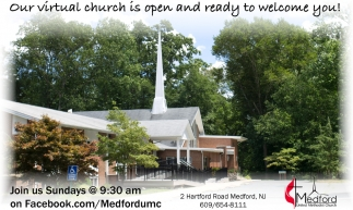 Our Virtual Church Is Open And Ready To Welcome You!