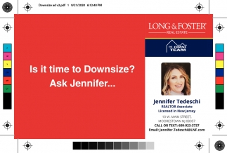 Is It Time To Downsize? Ask Jennifer...