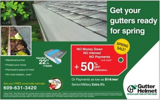 Get Your Gutters Ready For Spring
