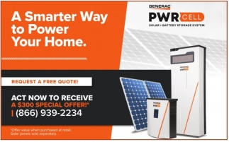 A Smarter Way To Power Your Home.