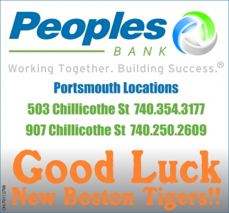 Good Luck New Boston  Tigers!