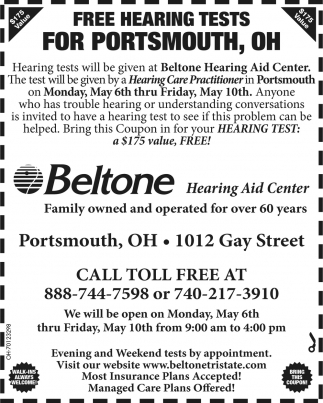 Free Hearing Tests for Portsmouth