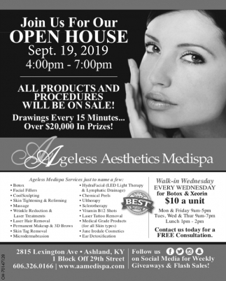 Open House Sep. 19