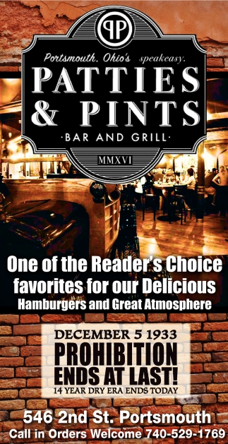 One of the Reader's Choice favorites for our Delicious Hamburgers and Great Atmosphere