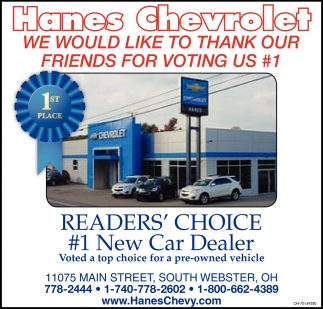 We would like to thank our friends for voting us #1