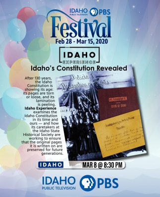 Idaho's Constitution Revealed
