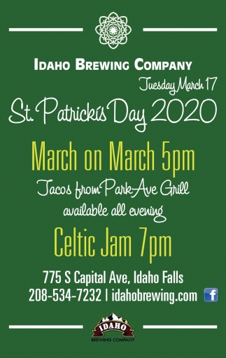St. Patricks Day 2020