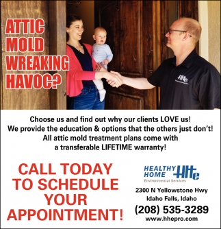 Call Today to Schedule Your Appointment!