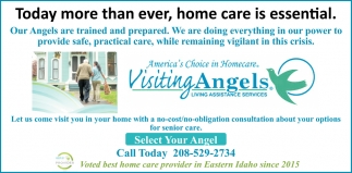Home Care is Essential