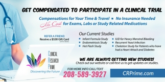 Get Compensated to Participate