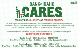 Bank of Idaho C.A.R.E.S.