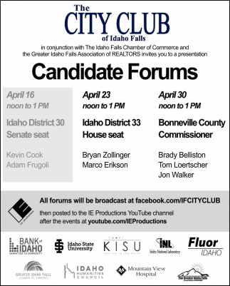 Candidate Forums