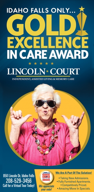 Gold Excellence in Care Award